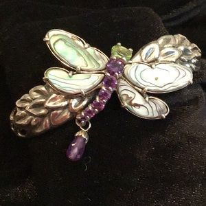 Jewelry - Abalone shell Dragonfly Cuff bracelet